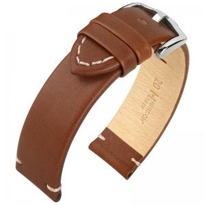 Hirsch Ranger Uhrenarmband Kalbsleder Braun