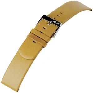 a.b.art Ersatzuhrenarmband D/DL/ES Serie Beige 21 und 30 mm