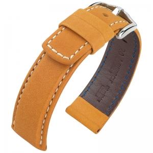 Hirsch Mariner Uhrarmband 100m Wasserfest Honig
