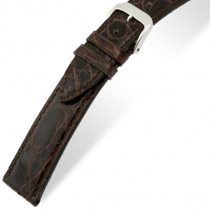 Rios Lord Uhrenarmband Krokodilleder Braun