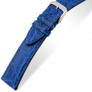 Rios Lord Uhrenarmband Krokodilleder Königsblau