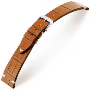 Rios Hollywood Uhrenarmband Rindsleder Cognac