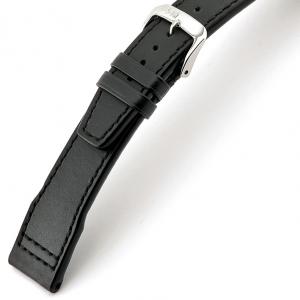 Rios Scirocco Uhrenarmband für IWC Kalbsleder Schwarz