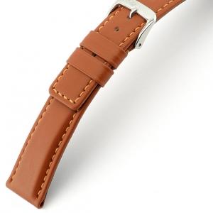 Rios Solid Uhrenarmband Rindsleder Cognac