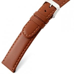 Rios Arizona Uhrenarmband Sattelleder Cognac