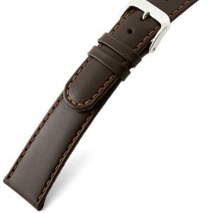 Rios Arizona Uhrenarmband Sattelleder Braun
