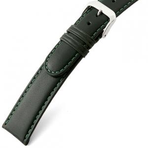 Rios Arizona Uhrenarmband Sattelleder Grün
