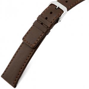 Rios Cashmere Uhrenarmband Lammleder Braun
