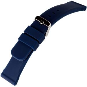 Blaues Silikon Gummi Uhrenarmband