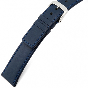 Rios Cashmere Uhrenarmband Lammleder Blau