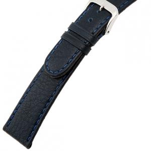 Rios Texas Uhrenarmband Büffelleder Blau