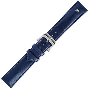 Maurice Lacroix Eliros Easychange Uhrenarmband Kalbsleder Blau