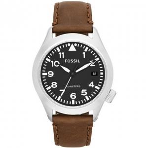 Fossil AM4512 Uhrenarmband Leder Braun