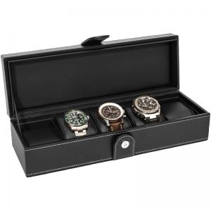 La Royale Classico 5 Uhrenbox Schwarz - 5 Uhren