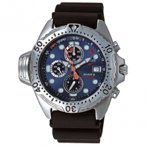 Citizen Promaster AY50000-05L Uhrenarmband Schwarz - 20mm