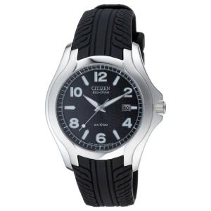 Citizen Eco-Drive BM6530-04 Uhrenarmband Reifenprofil Schwarz