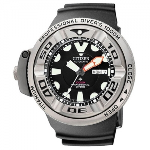 Citizen Promaster AutoZilla NH6934-08FE Uhrenarmband Schwarz