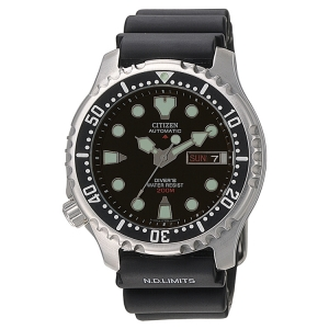 Citizen Promaster NY0040-09EE Uhrenarmband Schwarz - 20mm