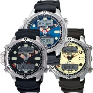 Citizen Promaster Aqualand JP1010-00E Uhrenarmband Schwarz - 20mm