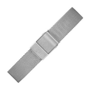 Daniel Wellington 14mm Petite Sterling Mesh Uhrenarmband Edelstahl
