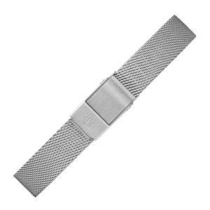 Daniel Wellington 12mm Petite Sterling Mesh Uhrenarmband Edelstahl