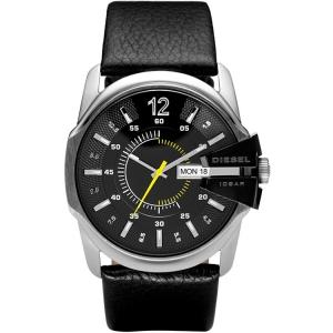 Diesel DZ1295 Uhrenarmband Leder Schwarz