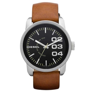 Diesel DZ1513 Uhrenarmband Leder Braun