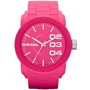 Diesel DZ1569 Uhrenarmband Gummi Rosa