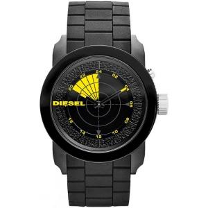 Diesel DZ1605 Uhrenarmband Gummi Schwarz