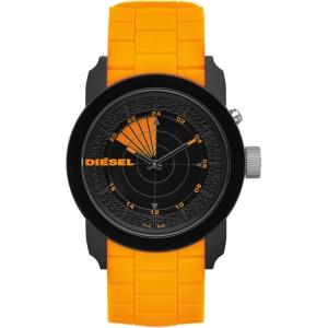 Diesel DZ1608 Uhrenarmband Gummi Orange