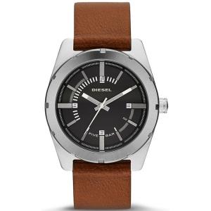 Diesel DZ1631 Uhrenarmband Leder Braun