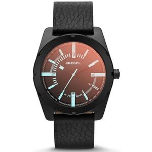 Diesel DZ1632 Uhrenarmband Leder Schwarz