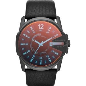Diesel DZ1657  Uhrenarmband Leder Schwarz