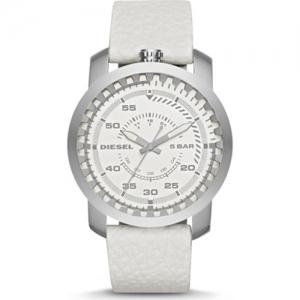 Diesel DZ1158 Uhrenarmband Leder Weiss