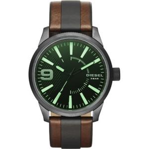 Diesel DZ1765 Uhrenarmband Leder Schwarz/Braun