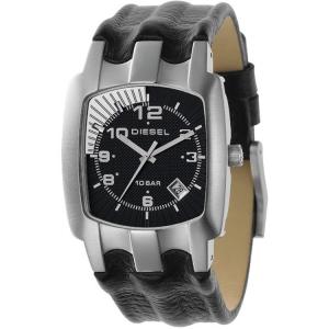 Diesel DZ4118 Uhrenarmband Leder Schwarz