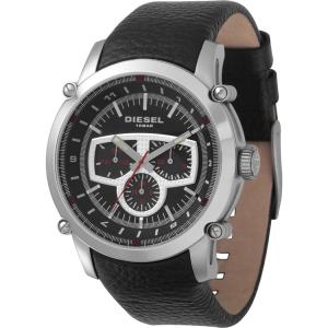 Diesel DZ4150 Uhrenarmband Leder Schwarz