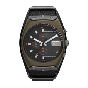 Diesel DZ4295 Uhrenarmband Leder Schwarz