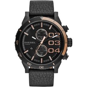 Diesel DZ4327 Uhrenarmband Leder Schwarz