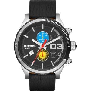 Diesel DZ4331 Uhrenarmband Leder Schwarz