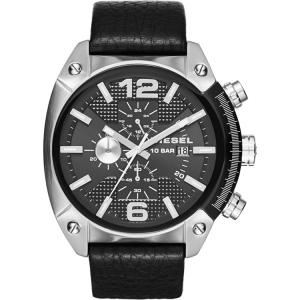 Diesel DZ4341 Uhrenarmband Leder Schwarz