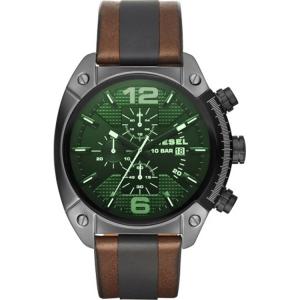 Diesel DZ4414 Uhrenarmband Leder Braun Schwarz