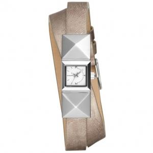 Diesel DZ5517 Uhrenarmband Leder Silber