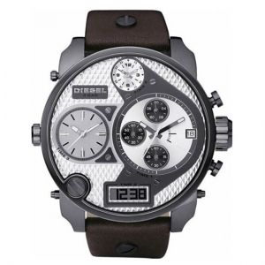 Diesel DZ7126 Uhrenarmband Leder Braun