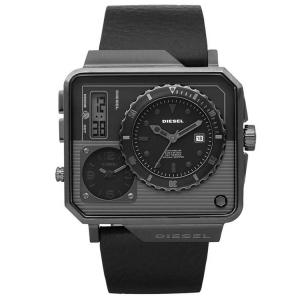 Diesel DZ7241 Uhrenarmband Leder Schwarz