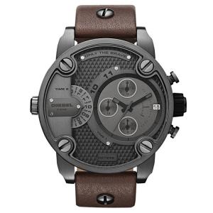 Diesel DZ7258 Uhrenarmband Leder Braun