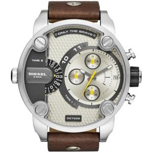 Diesel DZ7335 Uhrenarmband Leder Braun