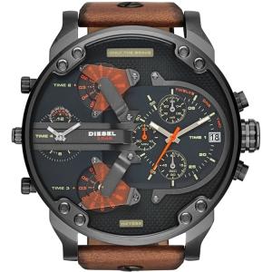 Diesel DZ7332 Uhrenarmband Leder Braun