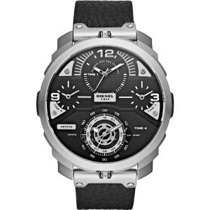 Diesel DZ7379 Uhrenarmband Leder Schwarz