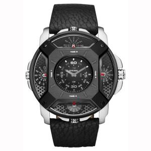 Diesel DZ7384 Uhrenarmband Leder Schwarz